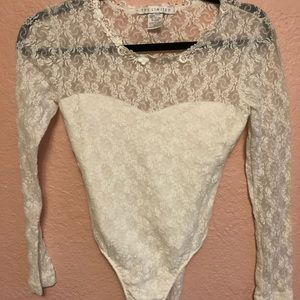 The Limited lace body suit.